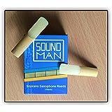 10 Soundman Cañas de Saxofón Soprano Fuerza 3,0 (10 unidades) Saxophone Reeds 3,0