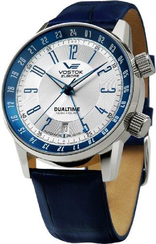 Vostok Europe Montres Homme - Bracelet en cuir & résine 2426-5601057 - GAZ 14 Limousine