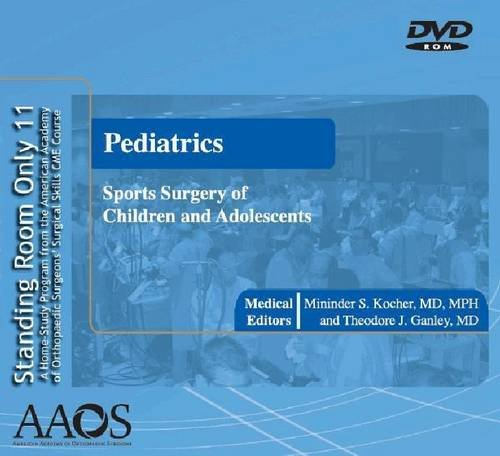 standing room only: pediatrics sports surgery of children and adolescents