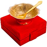 [Sponsored]Jaipur Ace Beautiful Gifts Silver And Gold Plated Brass Bowl For Décor Your Dining To Home And Hotel