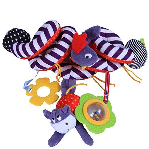 Unbekannt PER Kinderwagenspielzeug Spielzeug für Baby Bett/Kinderwagen/Baby Autositz, 4 Styles erhältlich - Kinderwagen Und Baby-affe-autositz