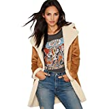 WanYang Donna Giacca Cappotto Giacche Abbottonato Parka Outwear Casual Giacca Tops
