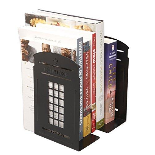 tobway-newest-creative-cabina-telefonica-fermalibri-reggilibri-rastrelliere-una-coppia-black