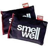 Nur Sports Gear Geruch Gut Lufterfrischer Beutel/Geruch Eliminator/Sporttasche/Sportschuhe/Stiefel 2Stück, Schwarz, Einheitsgröße