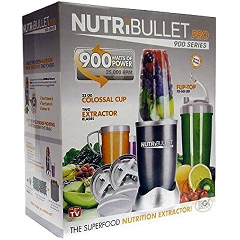 NUTRIBULLET PRO 900W SERIE NUTRI BULLET 15 PEZZI, CON SUPERFOOD