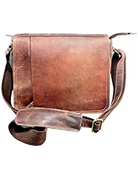 Stonkraft 100% Genuine Leather Unisex Crossing Bag/Shoulder Bag/Office Bag
