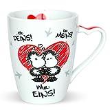 Sheepworld 45183 Kaffee-Tasse mit Spruch Ich Deins