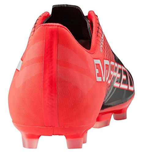Puma Evospeed 1.5 Tricks Ag, Scarpe da Calcio Uomo rosso / nero / bianco