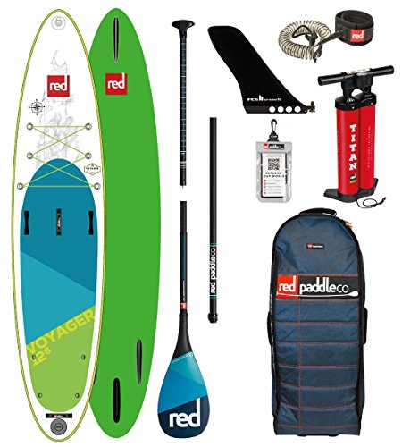 Red Paddle Co 2018 Voyager 12'6 Inflatable Stand Up Pad… | 05060345329582