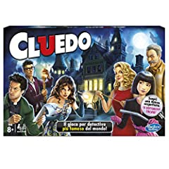 Idea Regalo - Hasbro Gaming - Cluedo, Gioco in Scatola