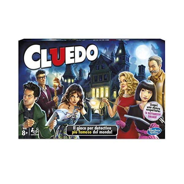 Hasbro Gaming - Cluedo, Gioco in Scatola 2 spesavip