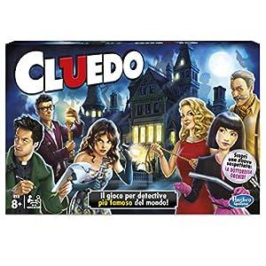 Hasbro Gaming - Juego en Familia Cluedo (Hasbro 38712) (versión Italiana)
