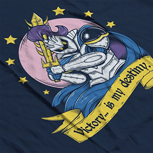 Super Smash Brothers Meta Knight Victory Is My Destiny Women's Sweatshirt Navy blue