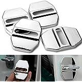 Funda protectora de acero inoxidable para cerraduras del interior del coche (compatible con Mercedes Benz