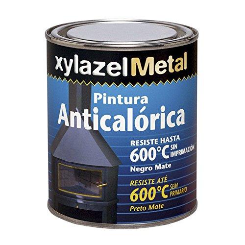 Xylazel - Pintura anticalorica 375ml negro mate