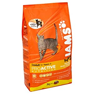 Iams Dry Cat Food Adult Chicken 3 Kg (Pack of 3)