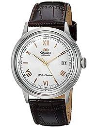 Orient Orologio Analogico Automatico Uomo con Cinturino in Pelle FAC00008W0