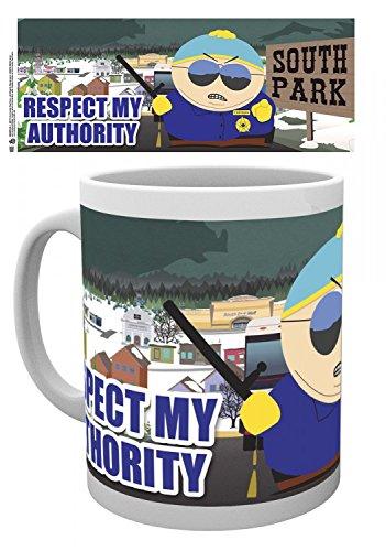 Set: South Park, Respect My Authority Tazza Da Caffè Mug (9x8 cm) E 1 Sticker Sorpresa 1art1®