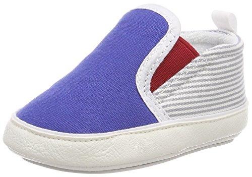 Sterntaler Baby-Schuh mit rutschfesten Sohlen für Jungen, Alter: 18-24 Monate, Größe: 22, Farbe: Blau, Art.-Nr.: 2301812 -