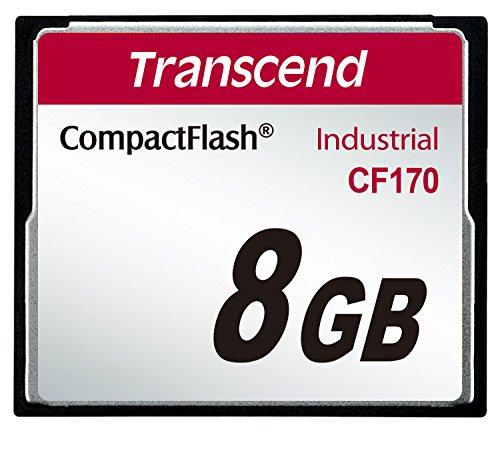 Transcend ts8gcf170 compact flash industrial