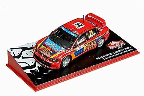 Mitsubishi Lancer WRC - Nr. 26 - Toni Gardemeister / Jake Honkanen - Rallye Monte Carlo 2007 (1:43)