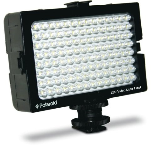 Polaroid-Beleuchtung 112Dioden LED für Digitalkameras und Camcorder Blitzschuh und Dimmer (UK-Import)