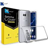 Ascension ® Transparent Classic Clear Hardback Protection Case Cover For Samsung Galaxy S8