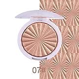 SOMEAS Schimmer Highlighter Pulver Make-up Basis Gesicht Aufheller Glitter Bronzer Highlighter Contour Palette #07