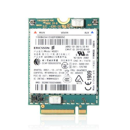 Ericsson n5321gw 04W3823Karte Modul 3g Lenovo ThinkPad WWAN S540X230S X240s T440, - Sony Windows Xp Laptops