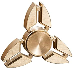 Hand Spinner Stress Relief Toy,100% Copper-High Speed 3-5 Minute Spins -Stress Reliever Reducer Anxiety ADD ADHD Focus Idle Killing Time