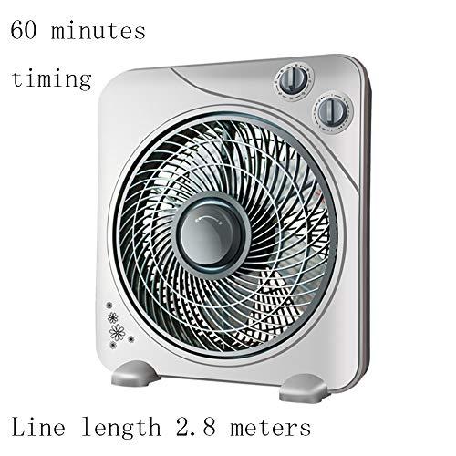 LZDFS ElektrolÜFter Desktop ElektrolÜFter Home Silent Fan FÜNf-Blatt-Wind-Lautstärke Kann Eingestellt Werden DREI-Geschwindigkeits-Einstellung Geeignet FÜR BÜRo Wohnzimmer Schlafzimmer (Desktop-ventilator Vornado)