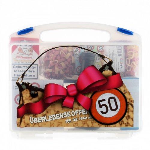 Lustige Apotheke Überlebenskoffer für die Frau ab 50 (8 teilig)