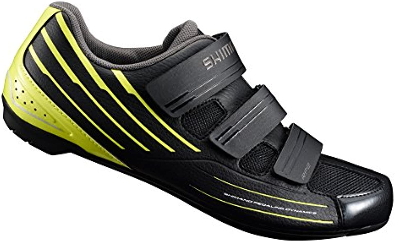 Shimano SHRP2NC460SY00 - Zapatillas ciclismo, 46, Negro - Amarillo, Hombre  -