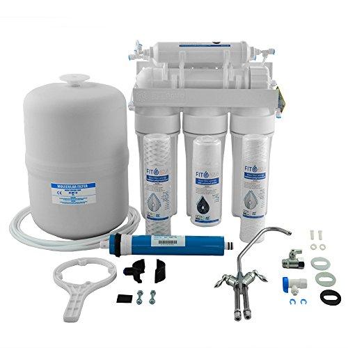 Fit aqua ARO-6 Häusliche sechsstufige RO Wasserfilter Komplettset original Made in EU (Aqua-skala)