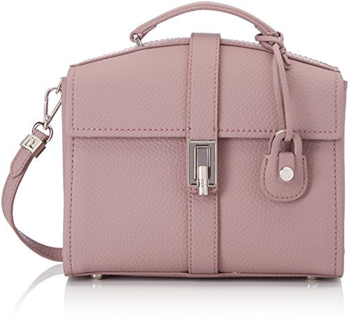 Trussardi Jeans 75b00162-1y000031, Borsa a Mano Donna, 12 x 26 x 25 cm (W x H x L) Rosa (Old Pink)