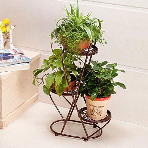 Fioriere da esterno scaffale per piante 3 strati fiore - Porta piante da esterno ...