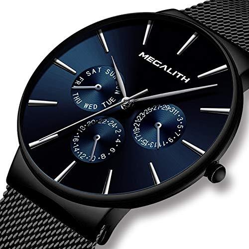 DEQIAODE Mode Lässig Quarz Herrenuhr Wasserdichte Ultradünne Herrenuhren Top-Marke Luxus Sport Armbanduhren Für Männer Uhr