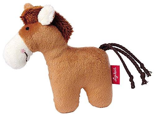 sigikid, Mädchen und Jungen, Greifling und Rassel Pferd, Braun, 41174 (Pferd Pferde Spielzeug Für)