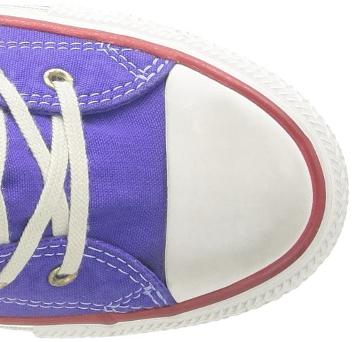 Converse Ctas Well Worn Hi, Baskets mode femme Violet (Violet Foncé 142)