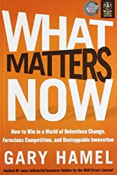 What Matters Now by Gary Hamel