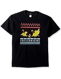 Disney Men's Lion King Gang Hakuna Matata Silhouette Graphic T-Shirt Shirt