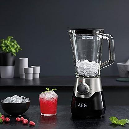 AEG-SB5810-Standmixer-700-Watt-TruFlow-Edelstahl-Messer-Glaskrug-BPA-frei-Blender-und-Smoothie-Maker-black