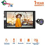 myTVS 7inch Car Double din Touch Screen Stereo Player with Bluetooth & Mirror - Best Reviews Guide