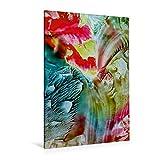 Calvendo Premium Textil-Leinwand 80 cm x 120 cm hoch, Orchidee | Wandbild, Bild auf Keilrahmen, Fertigbild auf Echter Leinwand, Leinwanddruck: Exotische Blütenwelt Kunst Kunst