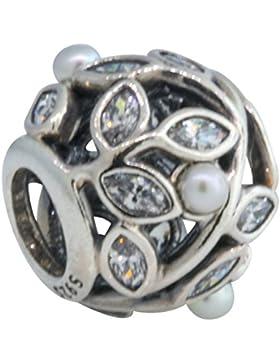 Pandora 791754P Leuchtende Blätter  Charm