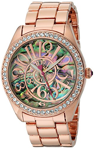 betsey-johnson-womens-quartz-metal-and-alloy-automatic-watch-colorrose-gold-toned-model-bj00048-147