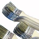 ROTIX-98050 6 X Heizkörperpinsel Ecken-Pinsel 50 mm 2 Zoll graue
