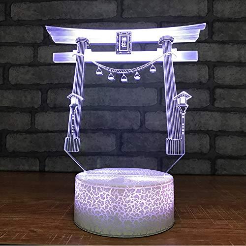 Baby Schlafen Kreative Beleuchtung Nachtlichter 3D Usb Küchengott Tür Modellierung Tischlampe Led Visuelle Bunte Leuchten Beste Geschenke