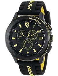 Ferrari De los hombres Analógico Vestido Cuarzo Reloj NWT 0830139