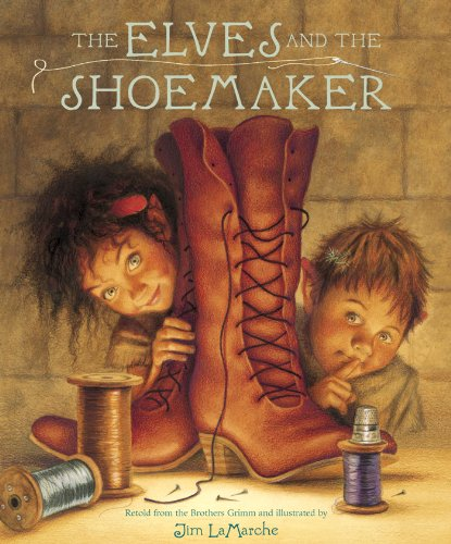 The elves and the shoemaker : retold from the Brothers Grimm
